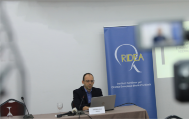 Press conference on the presentation of the study: 'The Future of the Reconciliation Process within Kosovo and between Kosovo and Serbia in the Context of an Eventual 'Grand Finale''