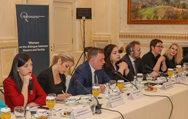 Conference - Women on the dialogue between Kosovo and Serbia