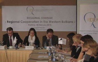 RIDEA's seminar: Regional Cooperation in the Western Balkans