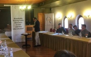 Round table in Gjakova: Raising Public Awareness on SAA and Visa Liberalisation