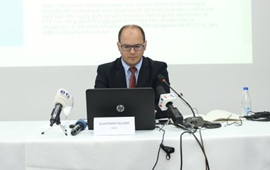 Press Conference on the presentation of the study on 'The claims of Serbia regarding 'Investments' from Serbian socially owned enterprises in Kosovo after 1999 in the context of an eventual 'Grand Finale''