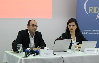 Press Conference on the presentation of studies on the issue of 'Missing Persons' and 'Displace Persons' in the context of an eventual final agreement between Kosovo and Serbia